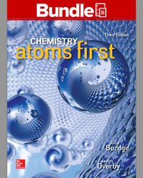 Package: Loose Leaf for Chemistry: Atoms First with Connect 2 Year Access Card and Student Solutions Manual