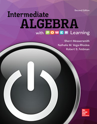 Integrated Video and Study Guide for Intermediate Algebra with P.O.W.E.R Learning