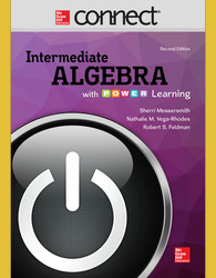 Connect Math Hosted by ALEKS 52 Weeks Online Access for Intermediate Algebra With P.O.W.E.R. Learning