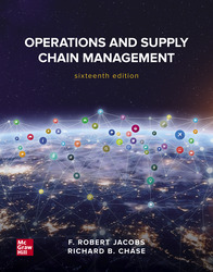 Operations and Supply Chain Management 16th Edition