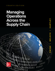 Managing Operations Across the Supply Chain 4th Edition