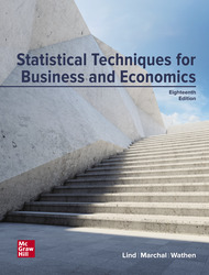 Statistical Techniques in Business and Economics 18th Edition