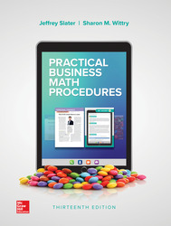 Practical Business Math Procedures 13th Edition