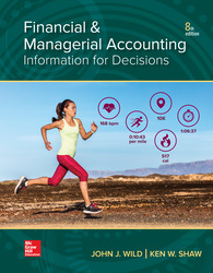 Financial and Managerial Accounting 8th Edition