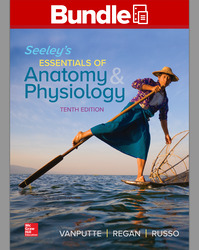 GEN COMBO LL SEELEY'S ESSENTIALS OF ANATOMY & PHYSIOLOGY; CONNECT APR PHILS AC