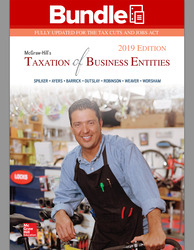 GEN COMBO LL MCGRAW-HILLS TAXATION OF BUSINESS ENTITIES 2019; CONNECT AC
