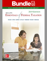 GEN COMBO LL MCGRAW-HILLS ESSENTIALS OF FEDERAL TAXATION 2019; CONNECT AC