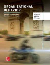 Organizational Behavior: Improving Performance and Commitment in the Workplace 7th Edition