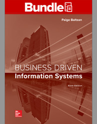 GEN COMBO LOOSELEAF BUSINESS DRIVEN INFORMATION SYSTEMS; CONNECT AC