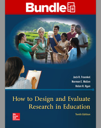 GEN COMBO LL HOW TO DESIGN & EVALUATE RESEARCH IN EDUCATION; CONNECT AC