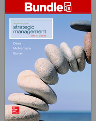 GEN COMBO LOOSELEAF STRATEGIC MANAGEMENT TEXT & CASES; BSG GLO-BUS; CONNECT AC