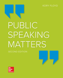 Public Speaking Matters 2nd Edition