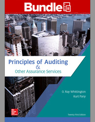 GEN COMBO LL PRINCIPLES OF AUDITING & OTHER ASSURANCE SERVICES; CONNECT AC