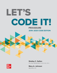 Let's Code It! Procedure 2019-2020 Code Edition 2nd Edition