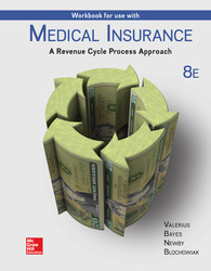 Workbook for Use with Medical Insurance:  A Revenue Cycle Process Approach