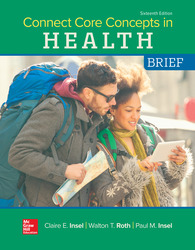 Connect Core Concepts in Health, BRIEF, Loose Leaf Edition 16th Edition