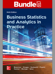GEN COMBO LL BUSINESS STATISTICS IN PRACTICE; CONNECT AC