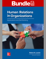 GEN COMBO LL HUMAN RELATIONS IN ORGANIZATIONS; CONNECT AC