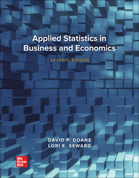 Applied Statistics in Business and Economics 7th Edition