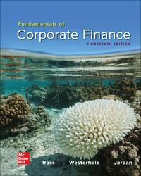 Fundamentals of Corporate Finance 13th Edition
