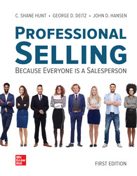 Professional Selling 1st Edition