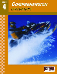 Fast Track Reading, Comprehension Evaluation Guides: Level 4