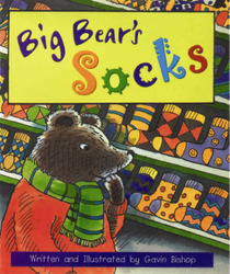 Storyteller, (Level E) Big Bear's Socks 6-pack