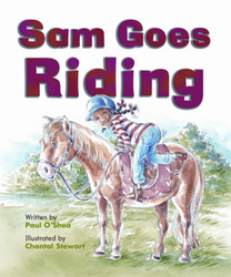 Gear Up, (Level F) Sam Goes Riding, 6-pack