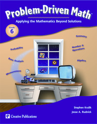 Problem Driven Math, Teacher Resource Book, Grade 6