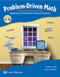 Problem Driven Math, Teacher Resource Book, Grades 6-8