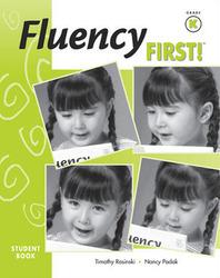 Fluency First, Workbook Grade K