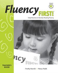 Fluency First!: Teacher Guide, Grade K