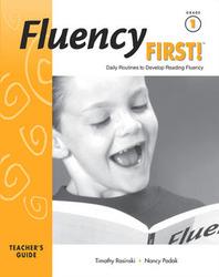 Fluency First!: Teacher Guide, Grade 1