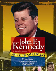 Amazing Americans, Post-War United States: John F. Kennedy (Level Q), 6-pack