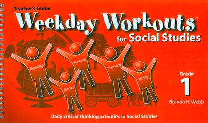Weekday Workouts for Social Studies - Teacher Guide Grade 1