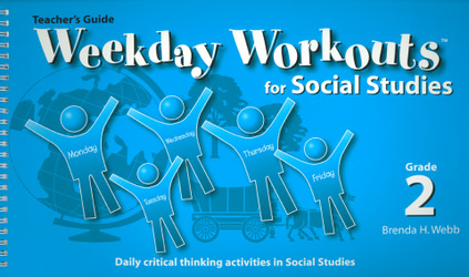 Weekday Workouts for Social Studies - Teacher Guide Grade 2