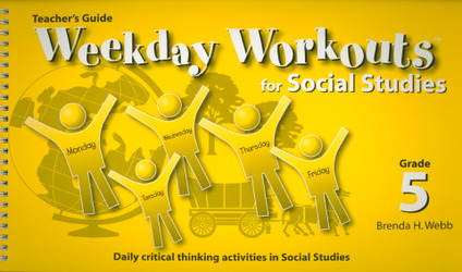 Weekday Workouts for Social Studies - Teacher Guide Grade 5