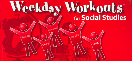 Weekday Workouts for Social Studies - Student Booklet Grade 3