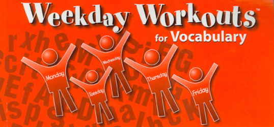 Weekday Workouts for Vocabulary - Student Booklet Grade 1