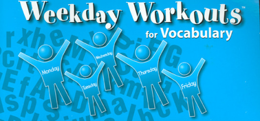 Weekday Workouts for Vocabulary - Student Booklet Grade 2