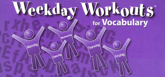Weekday Workouts for Vocabulary - Student Booklet Grade 6