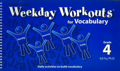 Weekday Workouts for Vocabulary - Teacher Guide Grade 4