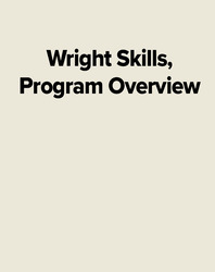 Wright Skills, Program Overview