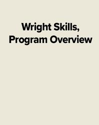 Wright Skills, Program Overview