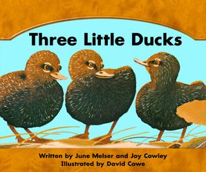 Wright Skills, Three Little Ducks Big Book
