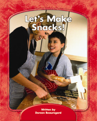 Wright Skills, Grade PreK-3,  Let's Make Snacks!, 6-pack