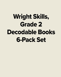 Wright Skills, Grade 2 Decodable Books 6-Pack Set