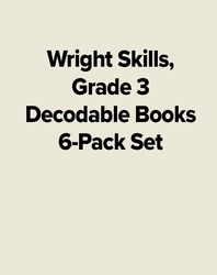 Wright Skills, Grade 3 Decodable Books 6-Pack Set
