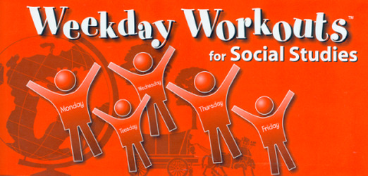 Weekday Workouts for Social Studies - Student Booklet 10-Pack Grade 1