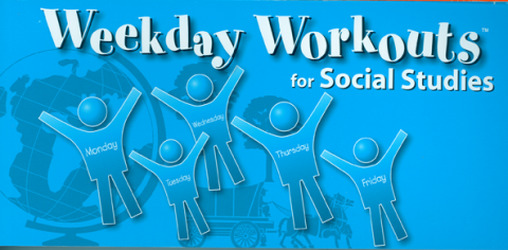 Weekday Workouts for Social Studies - Student Booklet 10-Pack Grade 2